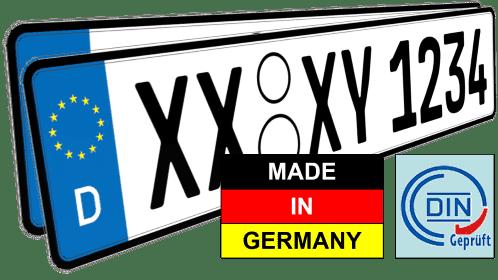 auto nummernschilder kennzeichen kfz günstig kaufen