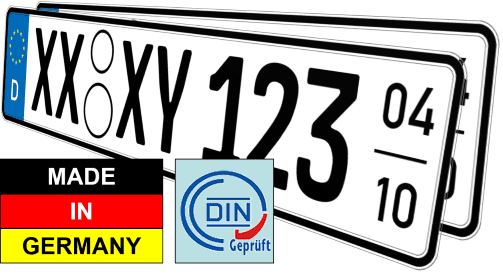 Auto saisonkennzeichen nummernschilder günstig kaufen