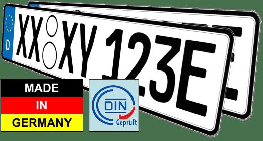 auto elektro e kennzeichen nummernschilder günstig kaufen