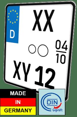 nummernschild Motorrad Saisonkennzeichen günstig kaufen