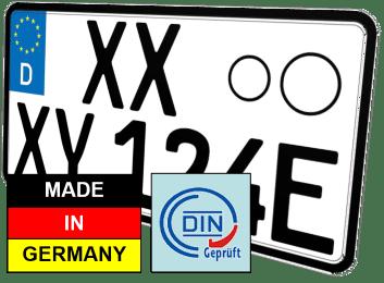 Leichtkraftrad Elektro E-Kennzeichen